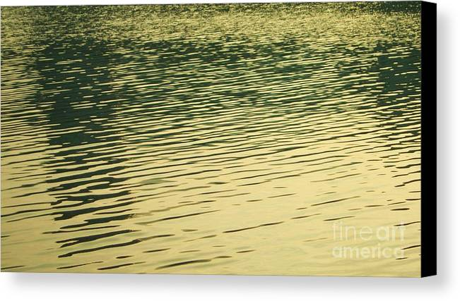 Reflection Canvas Print featuring the photograph Reflection 1 by Esther Rowden
