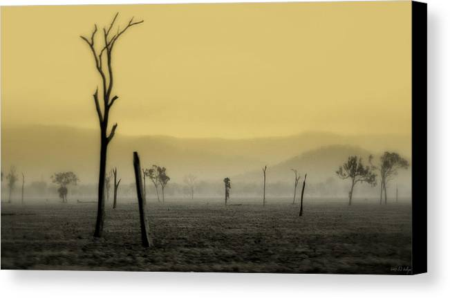Landscape Canvas Print featuring the photograph S P I R I T Land by Holly Kempe