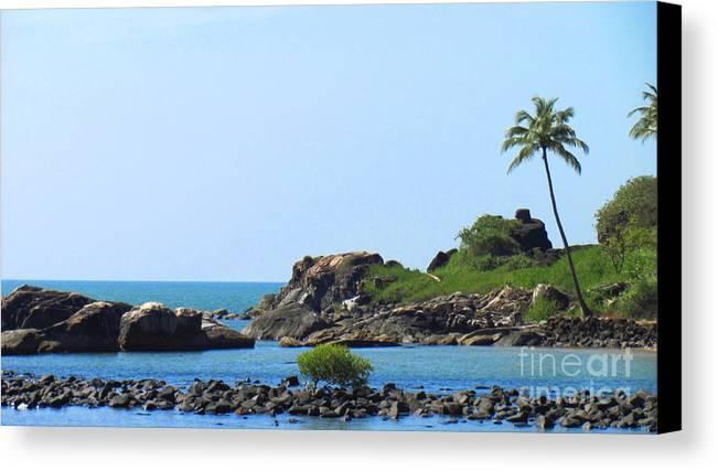 Landscape Canvas Print featuring the photograph Landscape by Ankit Changawala