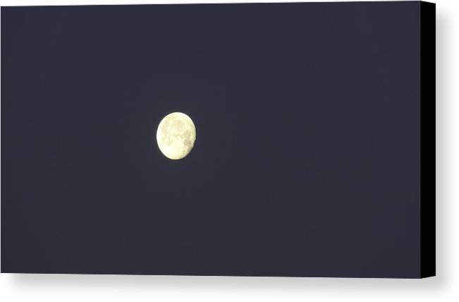 Full Moon Canvas Print featuring the photograph Full Moon by Jessica Cruz
