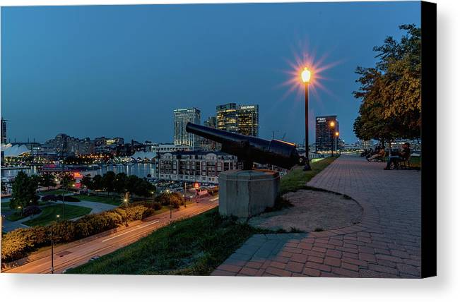 2017 Canvas Print featuring the photograph Federal Hill by Jim Archer