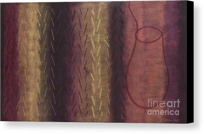 Acrylic Canvas Print featuring the painting Embodiment - Divine Source by Kerryn Madsen- Pietsch