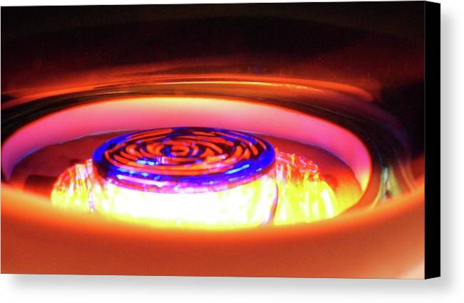 Abstract Canvas Print featuring the photograph Eruption # 7 by Paolo Staccioli