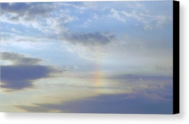 Kentucky Canvas Print featuring the photograph Kentucky Rainbow by John Parry