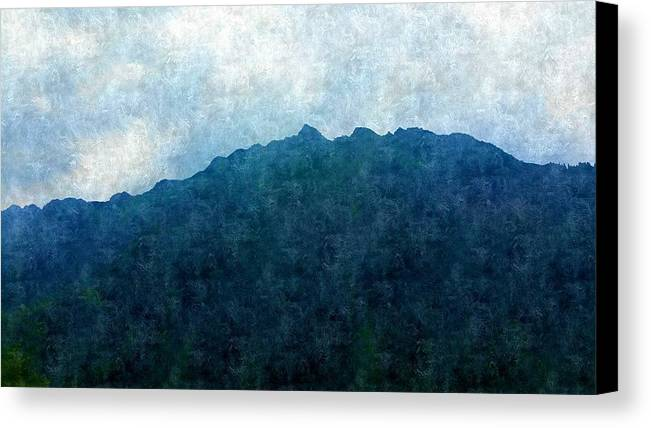 Canvas Print featuring the photograph Mountine Air by Flip Suc