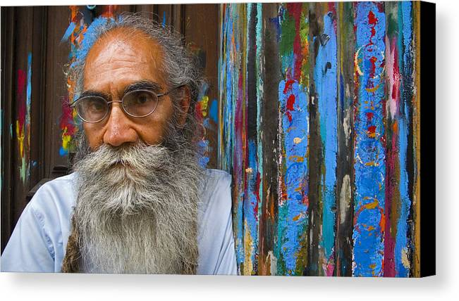 Architecture Canvas Print featuring the photograph Orizaba Painter by Skip Hunt