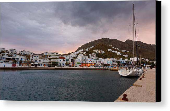 Europe Canvas Print featuring the photograph serifos 'VIII by Milan Gonda