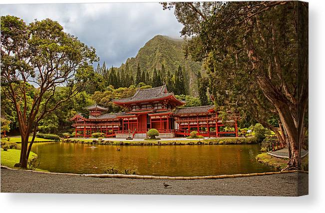 Architecture Canvas Print featuring the photograph Valley Of The Temples by Marcia Colelli