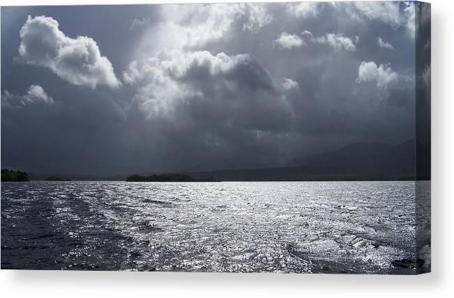 Ireland Canvas Print featuring the photograph After The Rain by Cathryn Brown