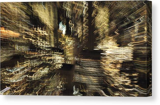 New York Canvas Print featuring the photograph Light Field by David Dalrymple