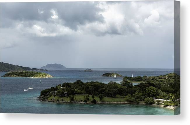 Saint John Island Canvas Print featuring the photograph If I Win The Lotto by Belinda Greb