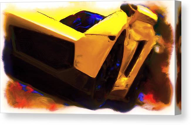 Lamborghini Front End Canvas Print Canvas Art By Brian Reaves