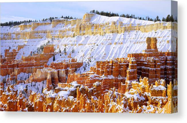 Layers Canvas Print featuring the photograph Layers by Chad Dutson