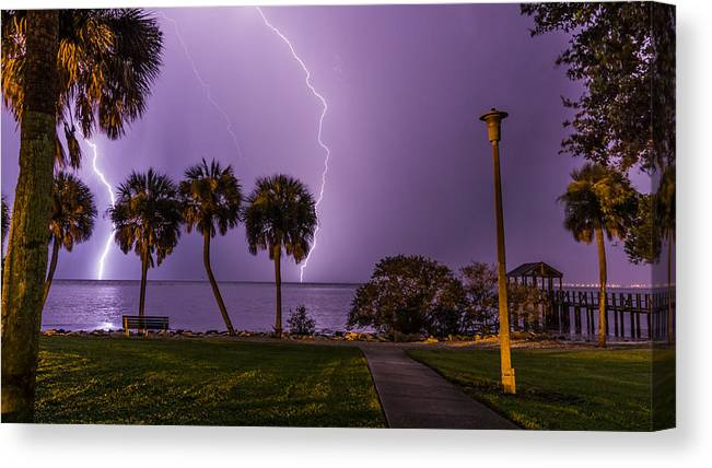 Thunder Lightning Canvas Prints (Page #54 of 59) | Fine Art America