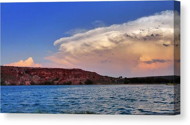 Skip Hunt Canvas Print featuring the photograph Storm Brew by Skip Hunt