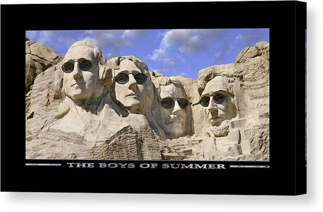 Washington Canvas Print featuring the photograph The Boys Of Summer by Mike McGlothlen