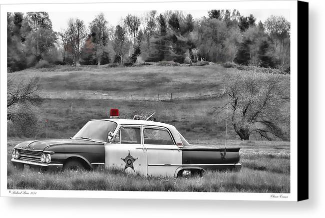 Automobile Canvas Print featuring the photograph Classic Cruiser by Richard Bean