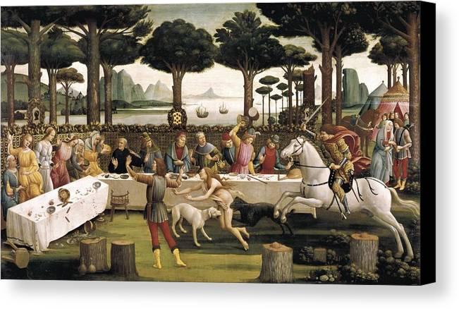 Horizontal Canvas Print featuring the photograph Botticelli, Alessandro Di Mariano Dei by Everett