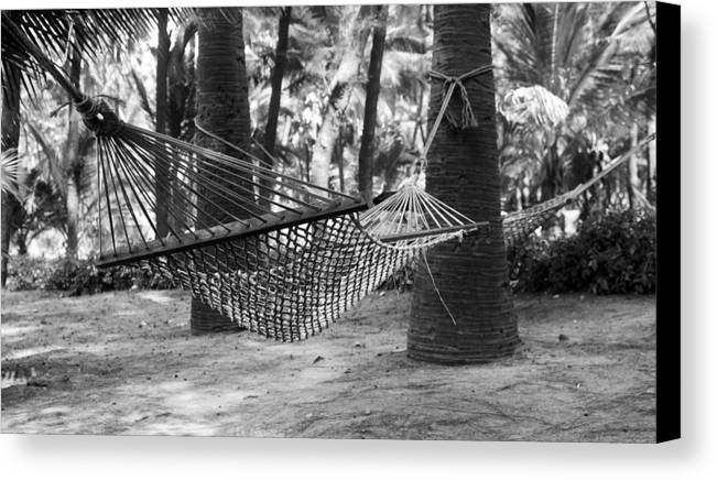 Horizontal Canvas Print featuring the photograph Afternoon Chill by Kantilal Patel