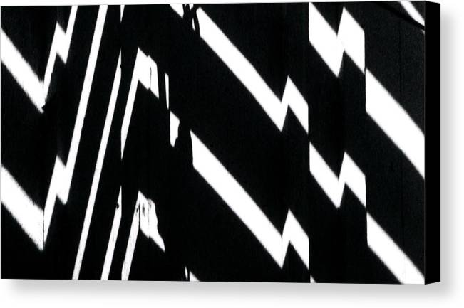 Abstract Canvas Print featuring the photograph Continuum 4 by Steven Huszar
