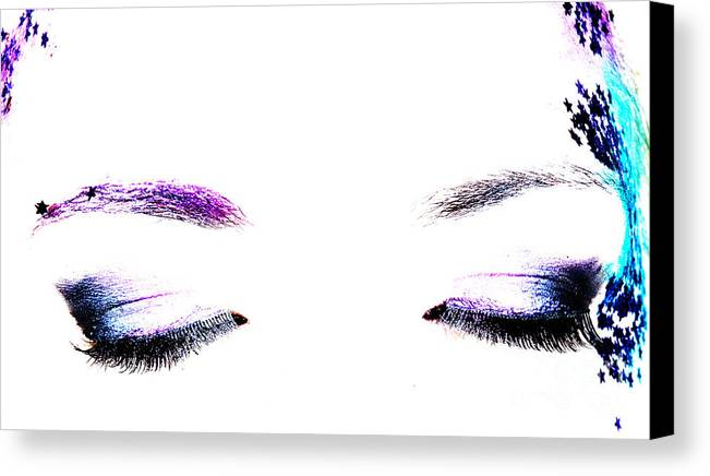 Art Canvas Print featuring the photograph Eyes by Grant Dring