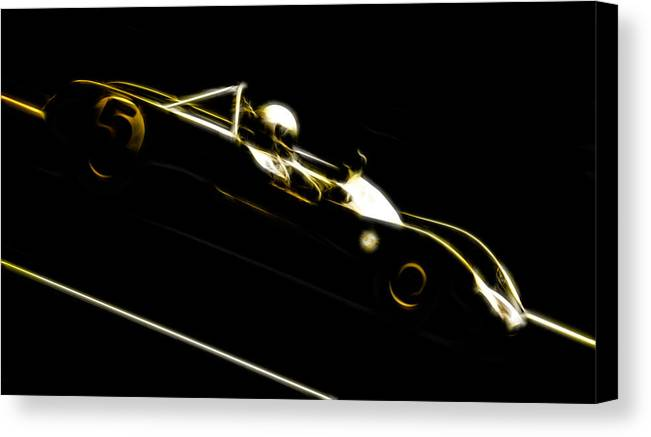 Lotus Racecar Canvas Print featuring the photograph Lotus 23b Racer by Phil 'motography' Clark
