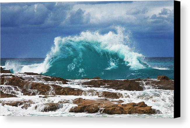 Wave Canvas Print featuring the photograph Wave by Bruce Beck