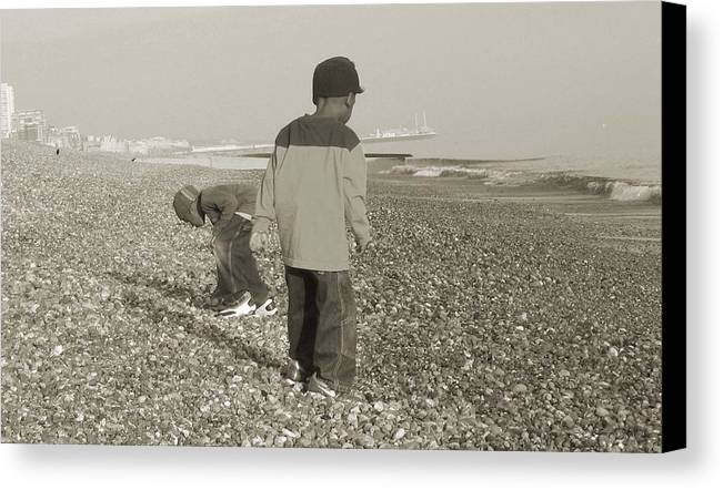 Picture Canvas Print featuring the photograph Brighton by LeeAnn Alexander