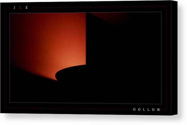 Lamp Canvas Print featuring the photograph Hollow by Jonathan Ellis Keys