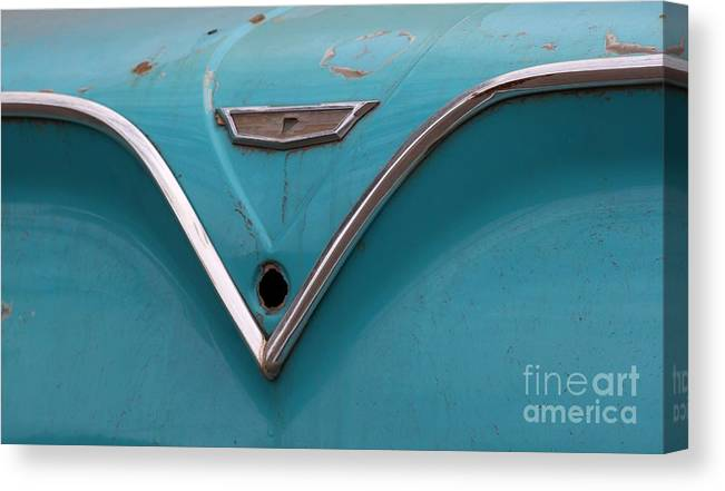 New Mexico Canvas Print featuring the photograph Belair V by Ashley M Conger