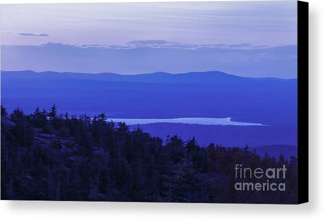 Maine Canvas Print featuring the photograph View From Cadillac Mountain by Diane Diederich