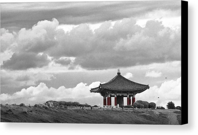 Korea Canvas Print featuring the photograph Looks Like Korea by Kevin Bergen
