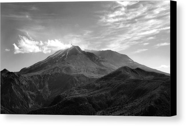 Landscape Canvas Print featuring the photograph St. Helens by Ty Nichols