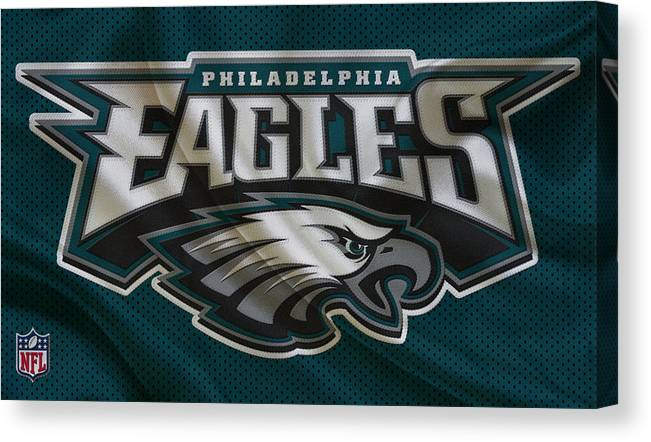 782ddb92155 Eagles Canvas Print featuring the photograph Philadelphia Eagles by Joe  Hamilton