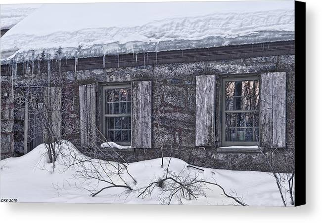 Abandoned Canvas Print featuring the photograph Comfort It Once Gave by Richard Bean