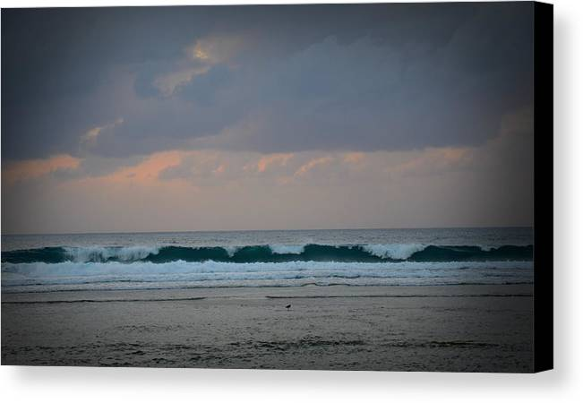 Wave Canvas Print featuring the photograph Wave by Jamie Blocker