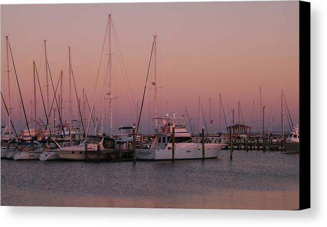 Harbor Canvas Print featuring the photograph Safe Harbor by Brian Wright