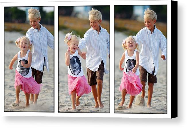Happy Contest Canvas Print featuring the photograph Happy Contest 15 by Jill Reger