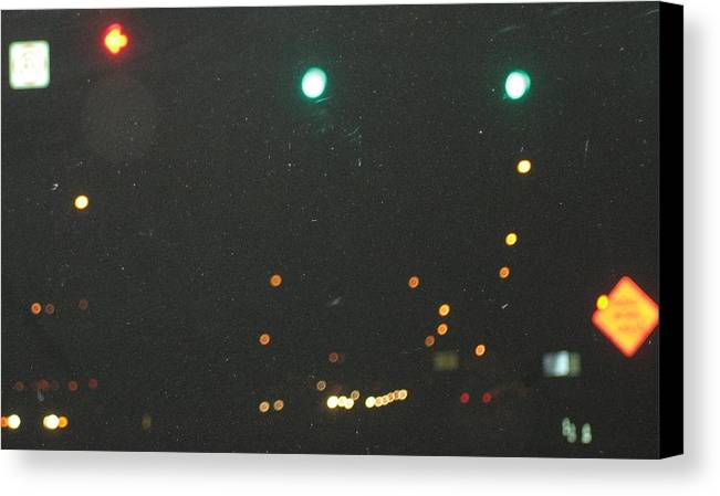 Lights Canvas Print featuring the photograph Standard Disolution by Stephen Hawks