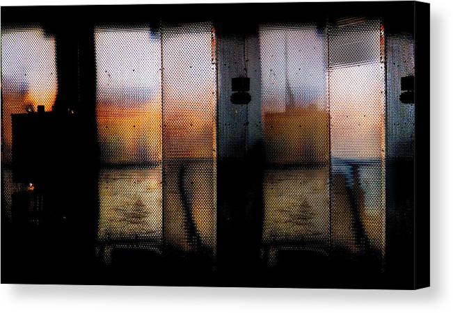 Digital Photography Canvas Print featuring the photograph Wall by Tony Wood