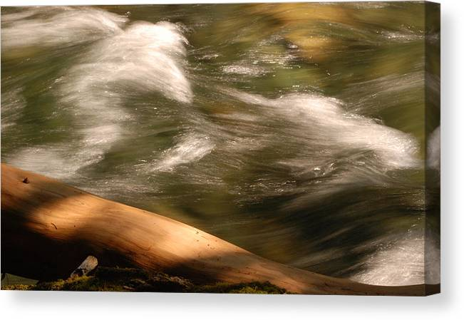 Rivers Canvas Print featuring the photograph Cool Water by Mark Alan Perry