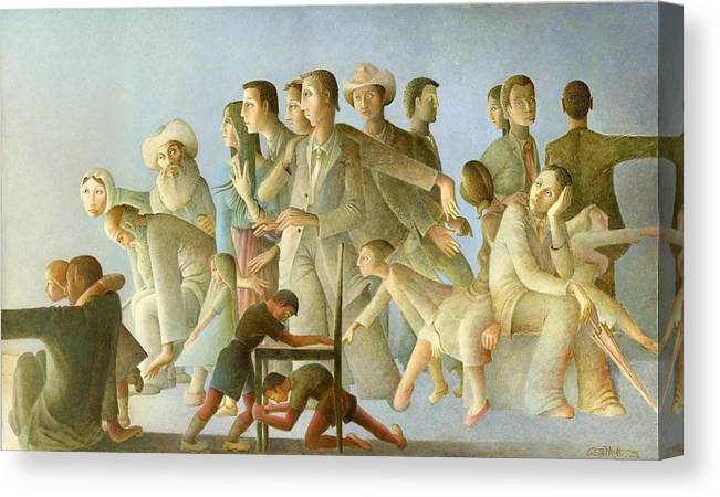 The Source Of Light Canvas Print featuring the painting The Source Of Light by Giuseppe Mariotti