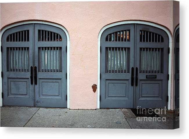 Two Of The Same Canvas Print featuring the photograph Two Of The Same by John Rizzuto