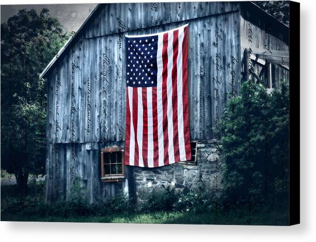 Barn Canvas Print featuring the photograph Pride by Thomas Schoeller