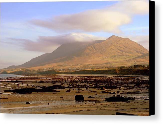 Mountain Canvas Print featuring the photograph Mountain 1 by Patrick Galvin