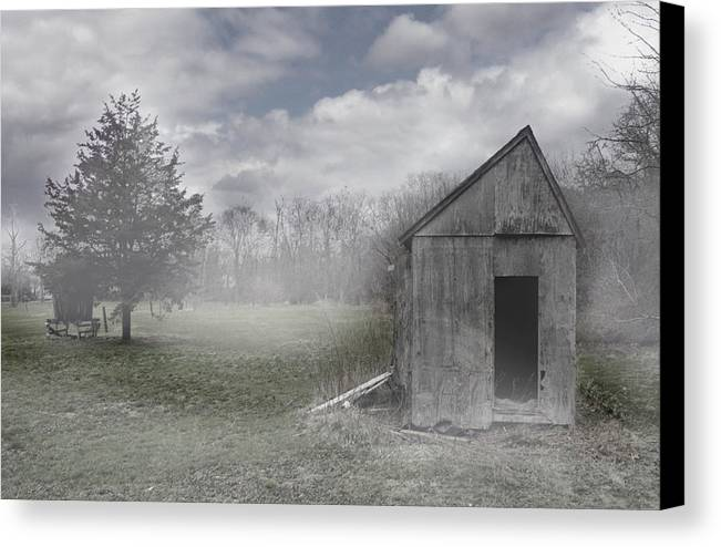 Farm Canvas Print featuring the photograph Manor Road Farm by Tom Romeo