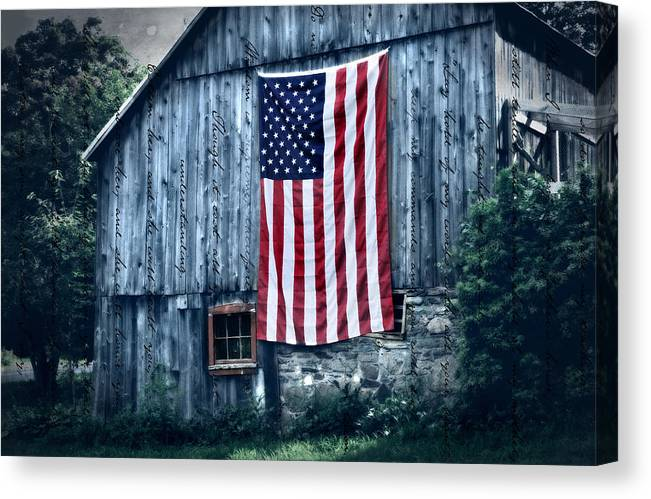 Old Canvas Print featuring the photograph Pride by T-S Photo Art