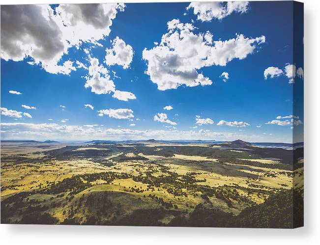 Capulin Volcano National Monument Canvas Print featuring the photograph Texas Beauty by Chelsea Stockton