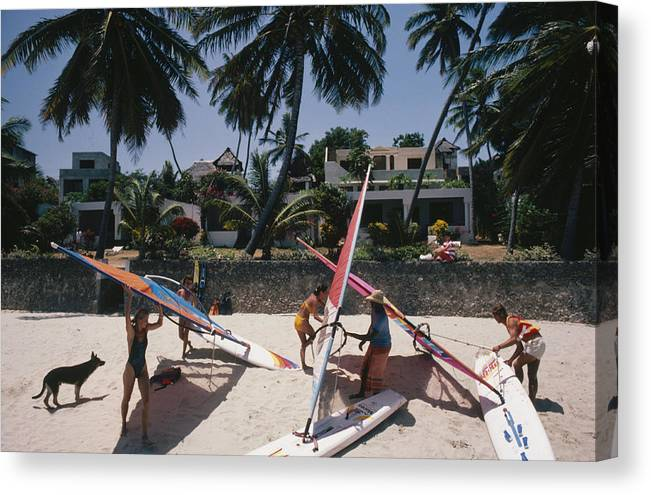 Kenya Canvas Print featuring the photograph The Lure Of Lamu by Slim Aarons