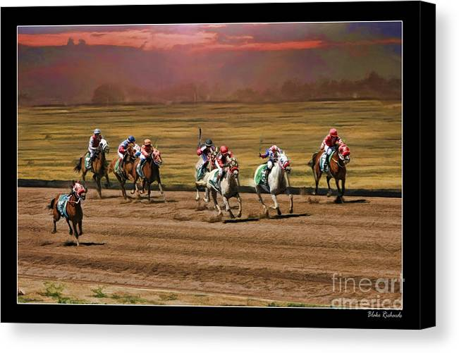 Ladies World Chapionship Ladies Cup Canvas Print featuring the photograph Ladies World Chapionship Ladies Cup Missing One Lady by Blake Richards